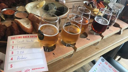 Auckland Urban Craft Beer Tour with Lunch - 4.5 Hours