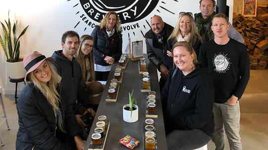 Hamilton Craft Beer Tour with Lunch