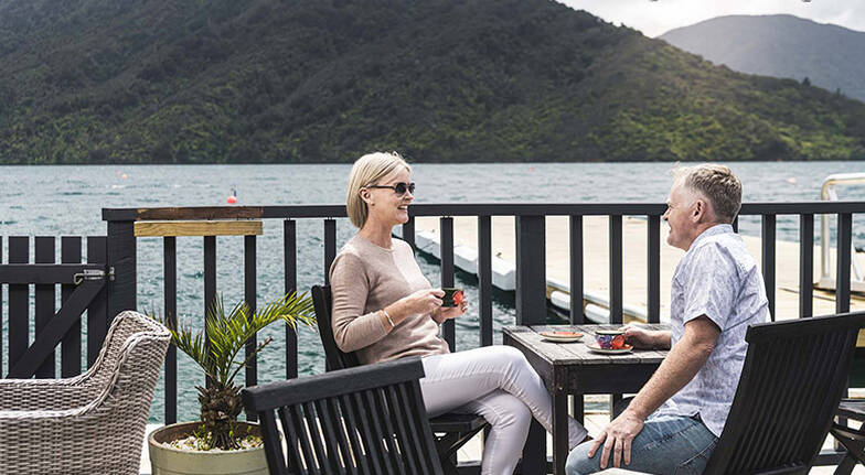 Marlborough Sounds Cruise and Lunch at Punga Cove Resort