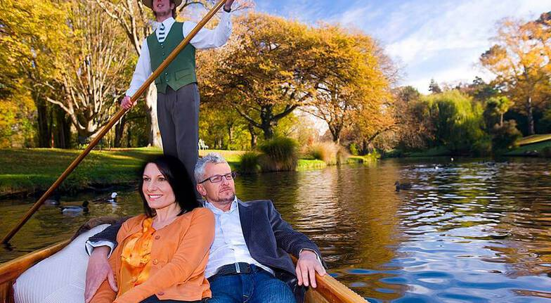 Private Punting on Christchurch's Avon River - For 2