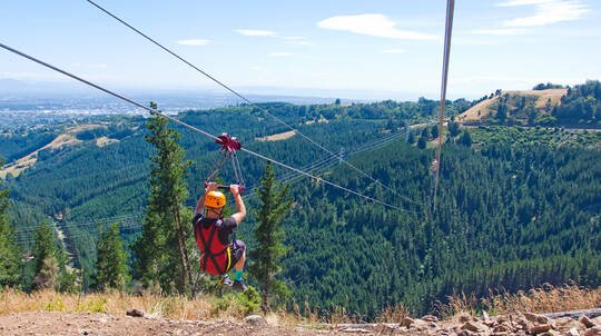 Port Hills Zipline Adventure Tour