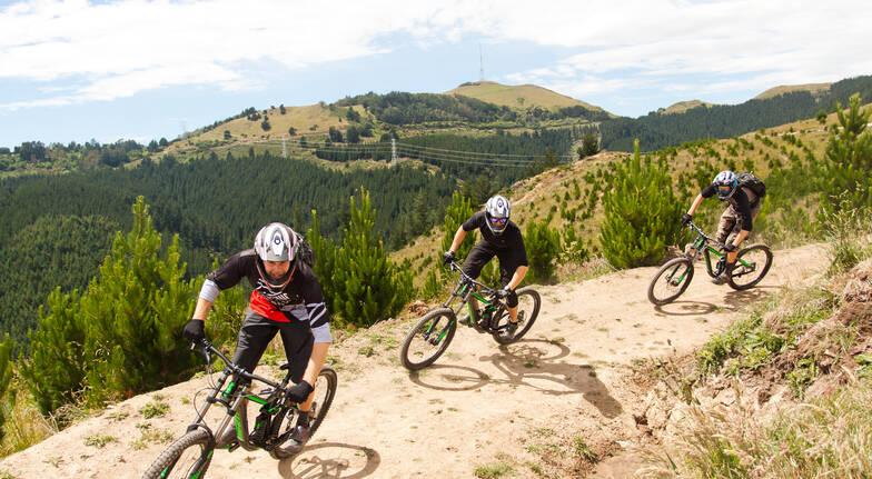Down Hill Mountain Biking Apprentice Lesson with Bike Hire