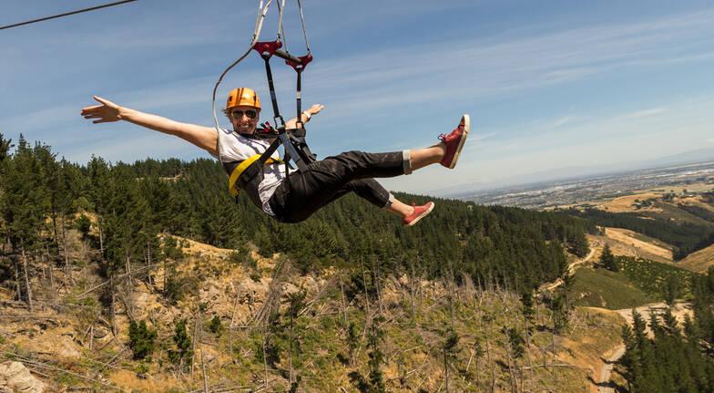 Do the Double - Downhill Mountain Biking and Zipline Tour