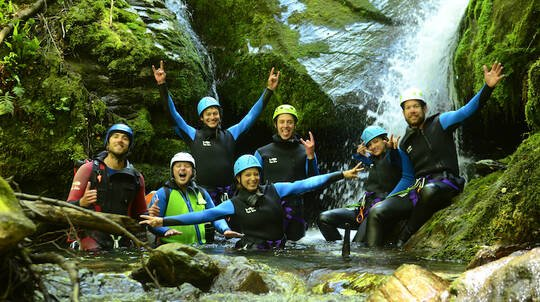 Gibbston Valley Half Day Canyoning departing Queenstown