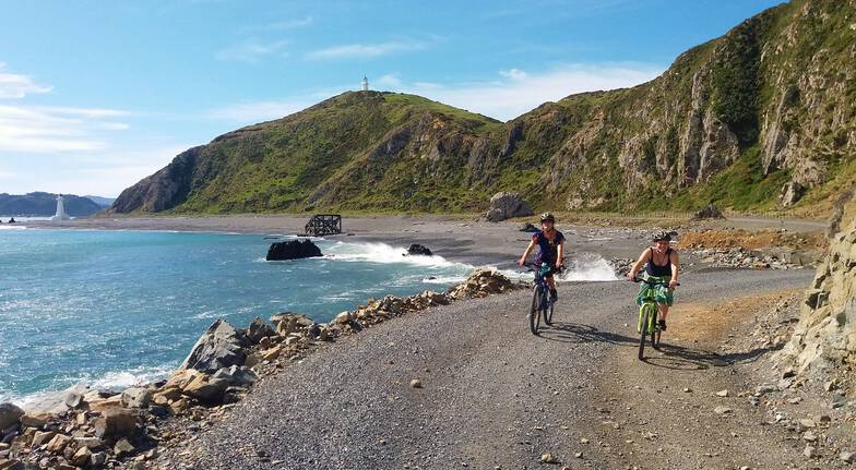 Lighthouses and Lakes Self Guided Mountain Biking Tour