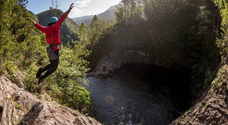 Sleeping God Canyoning Adventure with Photos - Half Day