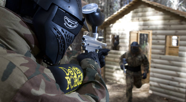 Paintball Experience with 200 Paintballs - Christchurch