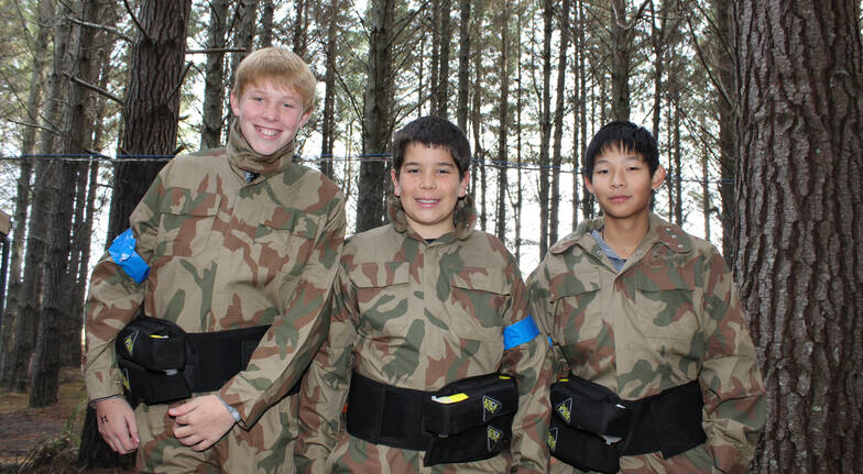 Paintball Experience with 200 Paintballs  Woodhill Forest