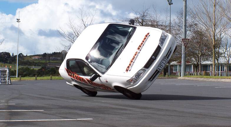 stunt car driving school