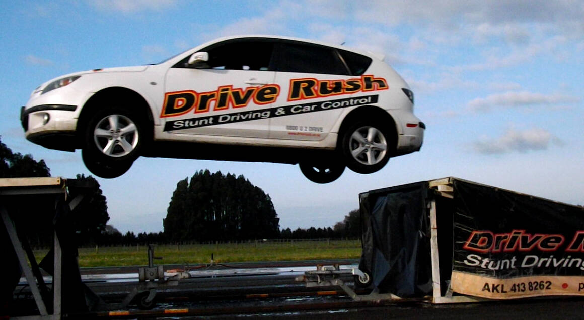 Stunt Car Driving School - Level 3 - Ardmore