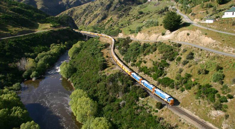 Taieri Gorge Railway Return Trip Dunedin to Middlemarch