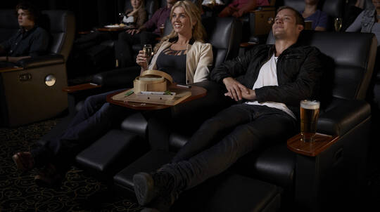 Gold Class Cinema and Dining Experience - For 2