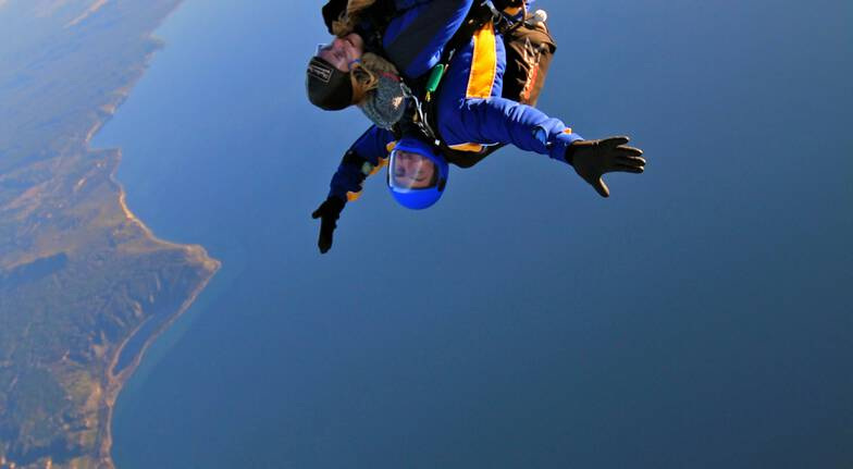 Tandem Skydive over Taupo - 15,000ft
