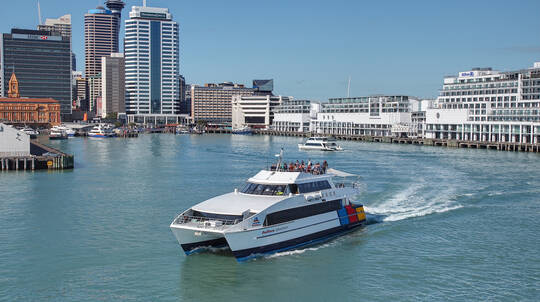 Cruise on Auckland's Waitemata Harbour