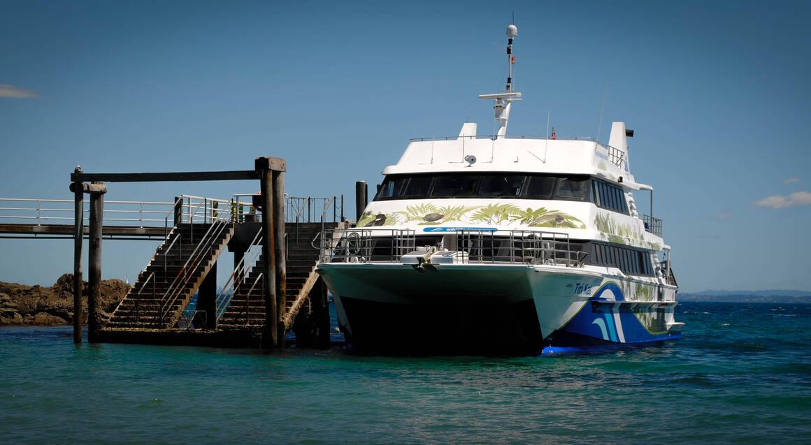 Tiritiri Matangi Island Day Trip with Ferry