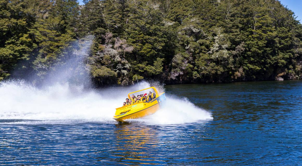 Kepler Mountain Jet Boat and Sea Plane Adventure