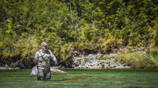 Private Fly Fishing Lessons in Fiordland - Full Day - For 2
