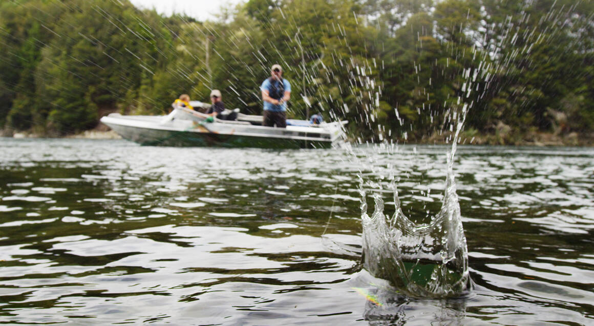 Trout Fishing from a Jet Boat in Fiordland - Up To 4 People