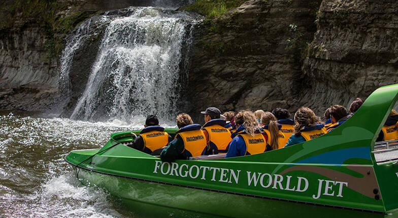 2 Day Forgotten World Tour with Rail, Flight and Jet Boating