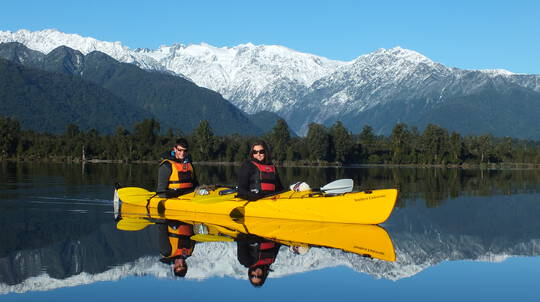 Guided Kayak Tour of Lake Mapourika with Photo - 3 Hours