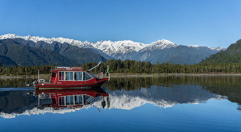 Cruise of Lake Mapourika and Guided Walk  25 Hours