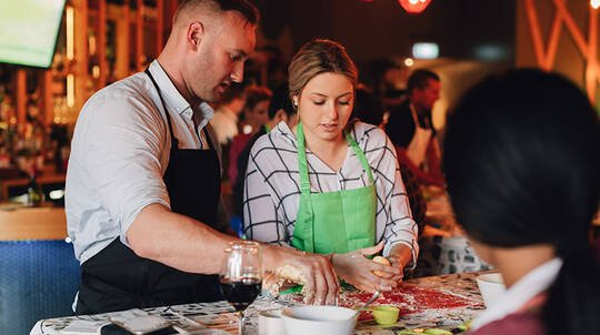 Pizza Masterclass with Cocktail and Meal - For 2 - Botany