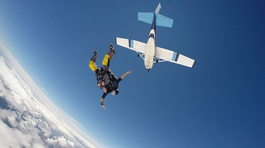 Tandem Skydive Over Waikato Region - 13,000ft