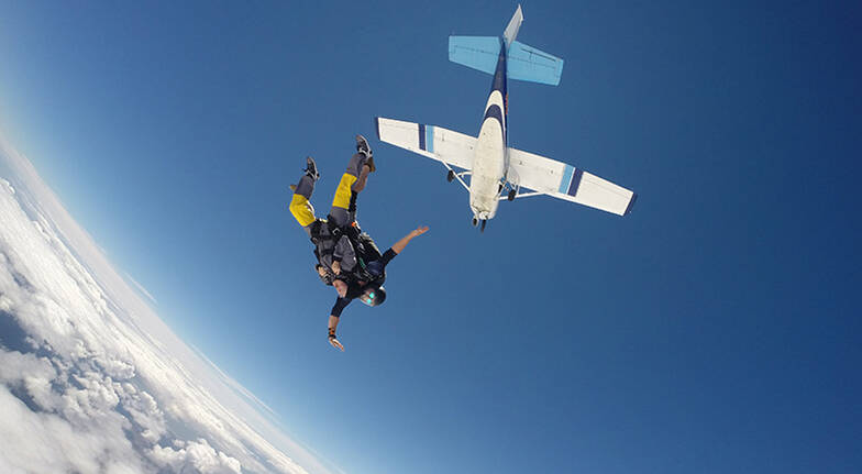 Tandem Skydive Over Waikato Region  13000ft