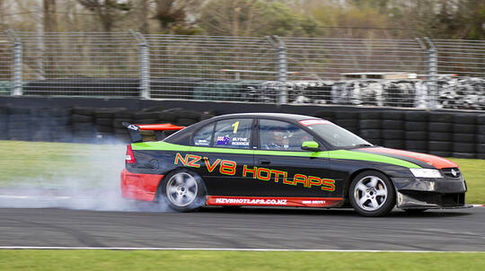 Holden V8 Hot Laps - 2 Laps - Palmerston North