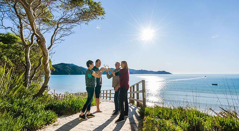 Abel Tasman National Park Scenic Flight with Landing  For 2