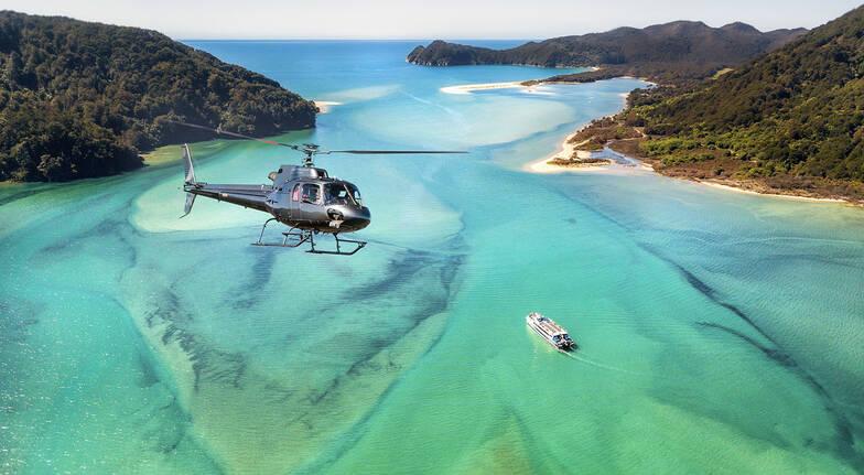 Abel Tasman National Park Scenic Flight with Landing - For 2