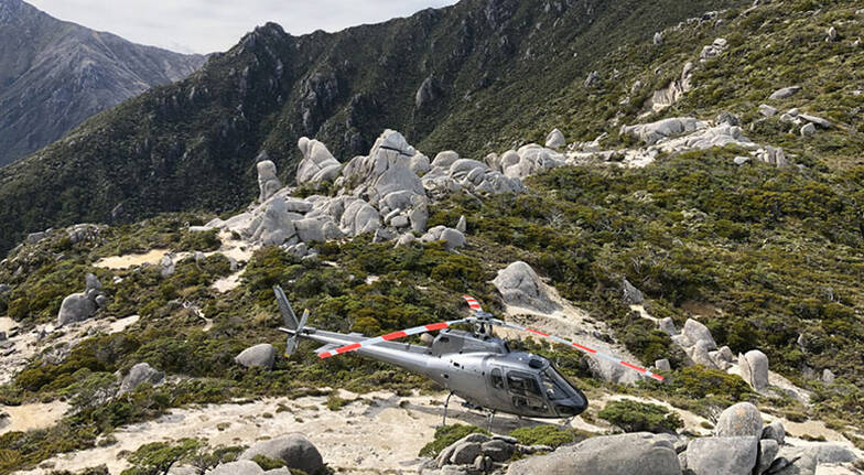 Lord of the Rings Helicopter Flight - Mt Olympus - For 2