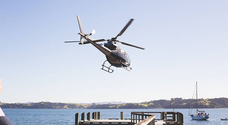 Helicopter Flight to Kawau Island with Picnic - For 2