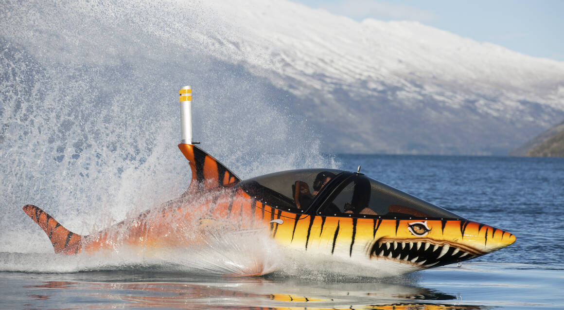 Submersible Shark Thrill Ride - 15 Mins