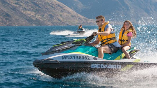 Guided Jet Ski Tour on Lake Wakatipu