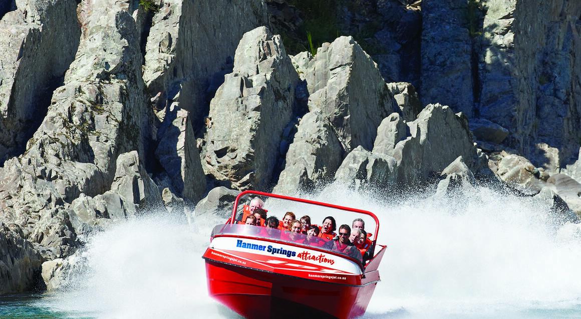 Hanmer Springs Jet Boat Ride on Waiau River
