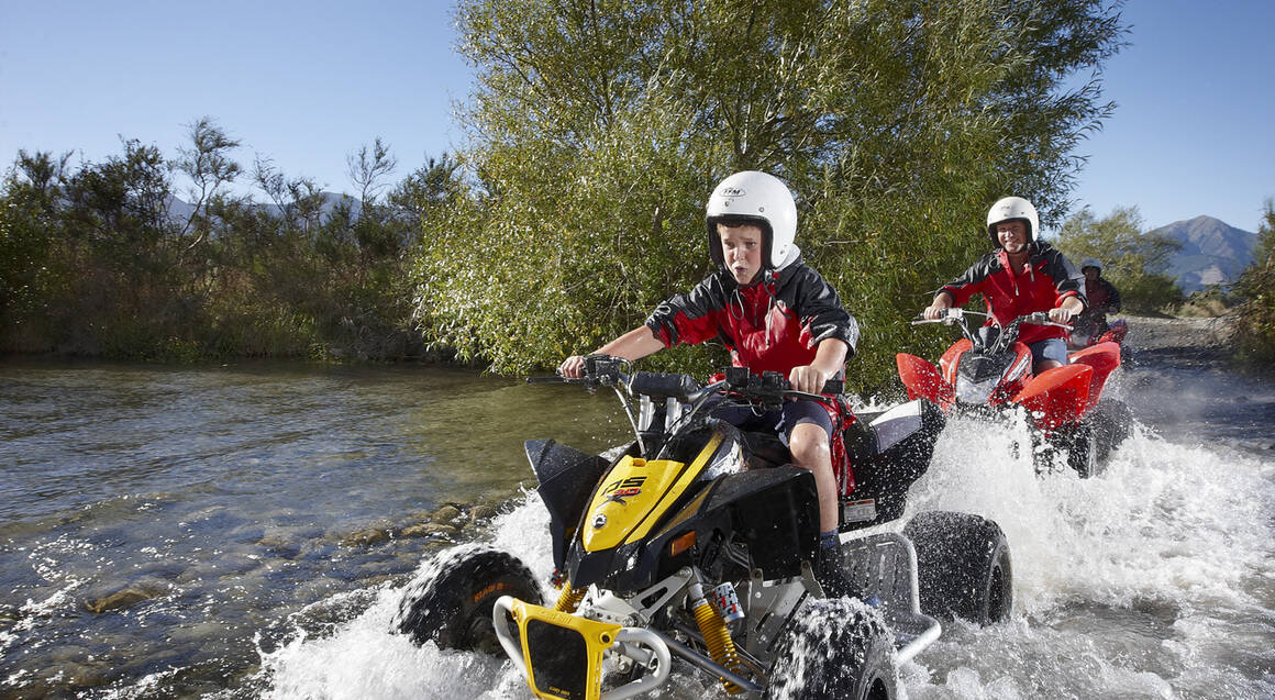 Hanmer Springs Twin Seat Quad Bike Adventure - For 2