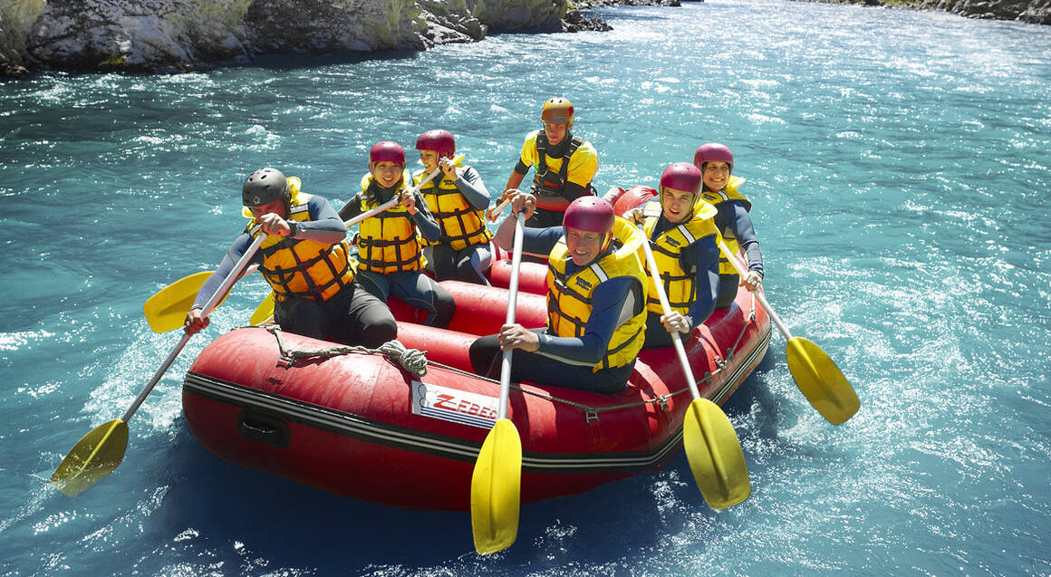 Hanmer Springs Rafting Adventure and Return Jet Boat Ride