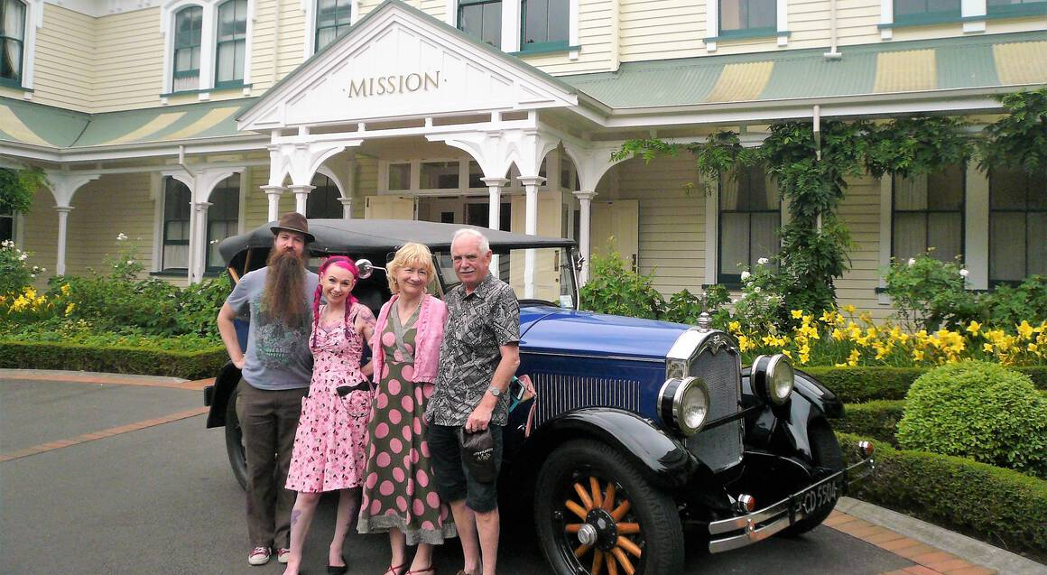 Vintage Car Day Hire in the Hawke's Bay