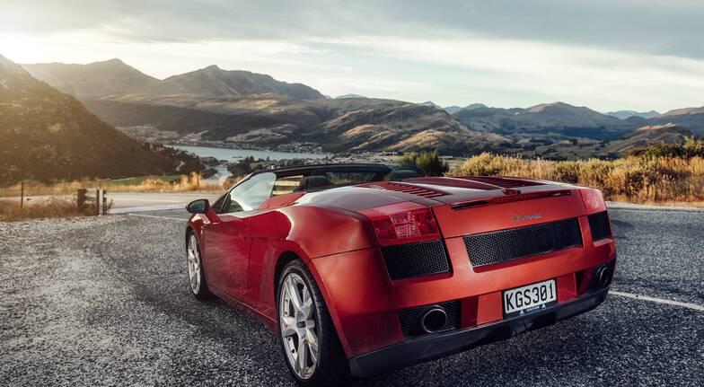Lamborghini Gallardo Spyder Queenstown