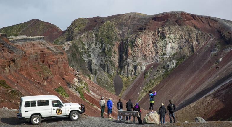 Mt Tarawera Volcanic Crater Hike - 4 Hours