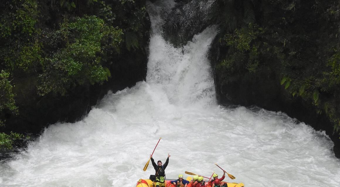 Kaituna River and Wairoa River White Water Rafting Combo