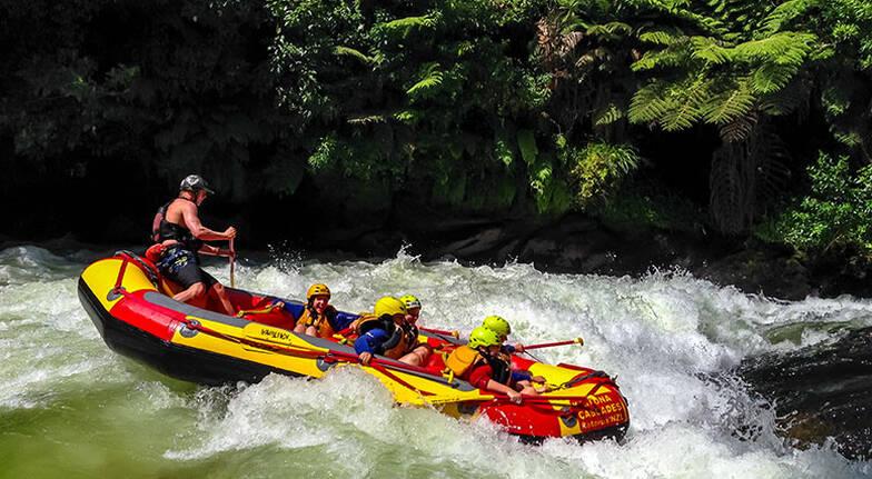 Kaituna River White Water Rafting Experience
