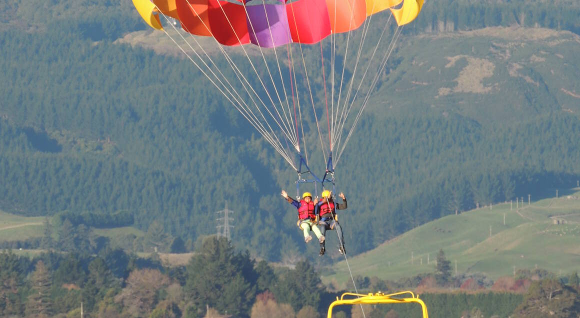 Parasailing Solo Flight