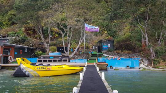 Jet Boat Ride to Lake Rotoiti Hot Pools
