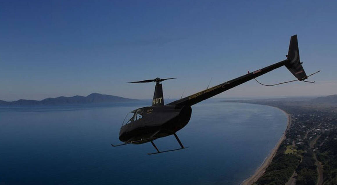 Scenic Helicopter Flight Over Mt Hector - For 2