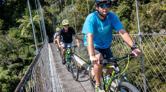Self Guided Waikato River Trail Walk Ride and Paddle