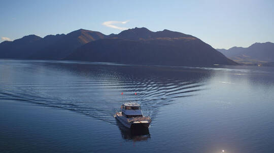 Happy Hour Cruise on Lake Wanaka with Wine and Cheese