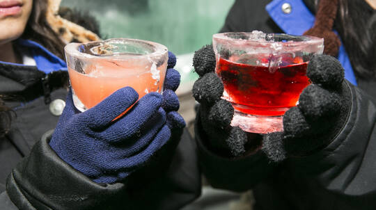 Ice Bar Entry with Mocktail