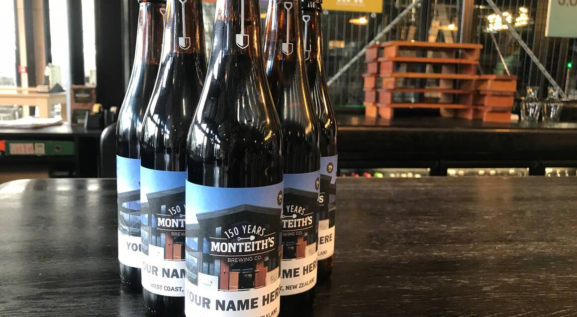 Monteiths Taste of the Coast with Brewery Tour